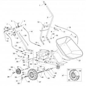 Pièces détachées Carry – éclaté produit n°1 EUROSYSTEMS