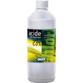Acide chlorhydrique – décape les métaux – rénove – détartre – 1 L DALEP