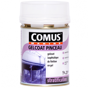 Gelcoat polyester iso pinceau - finition blanc COMUS