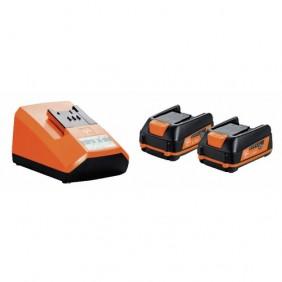 Pack 2 batteries 12 V + chargeur FEIN