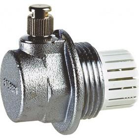 Purgeur d'air pour radiateur fonte ou aluminium Aercal - gauche THERMADOR