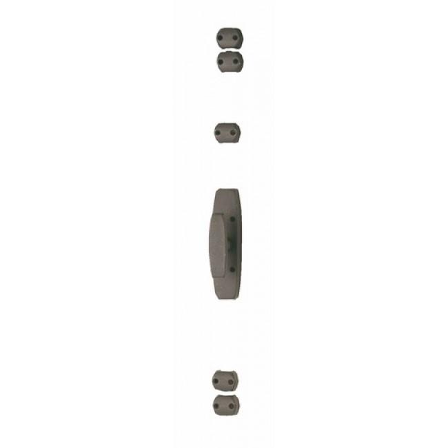 Crémone en fonte grise pour fenêtre bois - RY 51 JARDINIER MASSARD