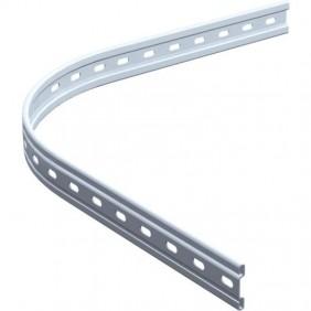 Rail profilé - courbe - pour portail coulissant - BOB 50 - 1722 MANTION