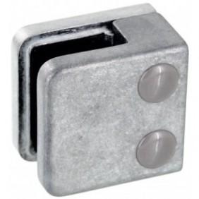 Pinces à verre carré 45x45 mm pour garde-corps - modèle 01 Design Production