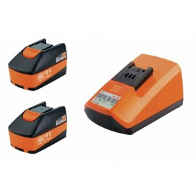 Pack 2 batteries 18 V + chargeur FEIN