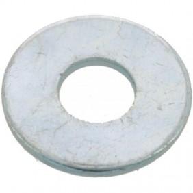 Rondelle plate - acier zingué blanc - LLu BRICOZOR