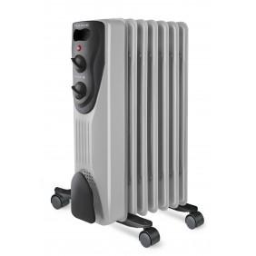 Radiateur mobile électrique à bain d'huile Dakar - 1500 W / 2000 W ALPATEC