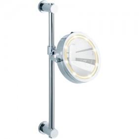 Miroir grossissant x5 - Support mural avec fixation Power-Loc WENKO