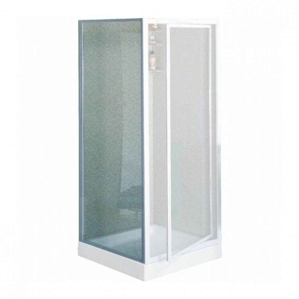 paroi douche fixe verre transparent riviera f r glable de 78 82 cm novellini bricozor. Black Bedroom Furniture Sets. Home Design Ideas