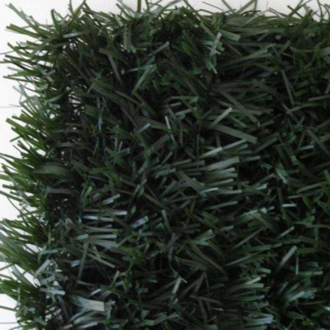 Haie végétale artificielle - vert sapin - 126 brins – Ultra JET7GARDEN