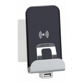 Module de charge Type-A USB + chargeur à induction Niloé LEGRAND