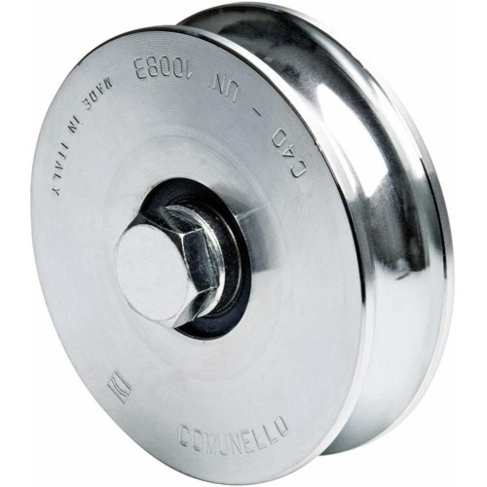 roues gorge ronde 315 2 roulements comunello bricozor. Black Bedroom Furniture Sets. Home Design Ideas