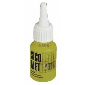 Colle instantanée cyanoacrylate métaux - 20 g - SIC 7000 SICOMET