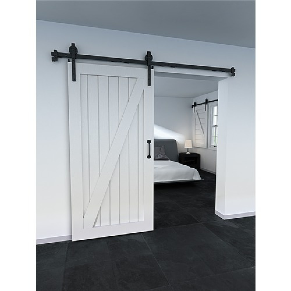 syst me porte coulissante s rie loft vantail 100 kg rob bricozor. Black Bedroom Furniture Sets. Home Design Ideas