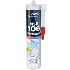 Mastic polymère invisible pour collage et étanchéité - MSP 106 BOSTIK