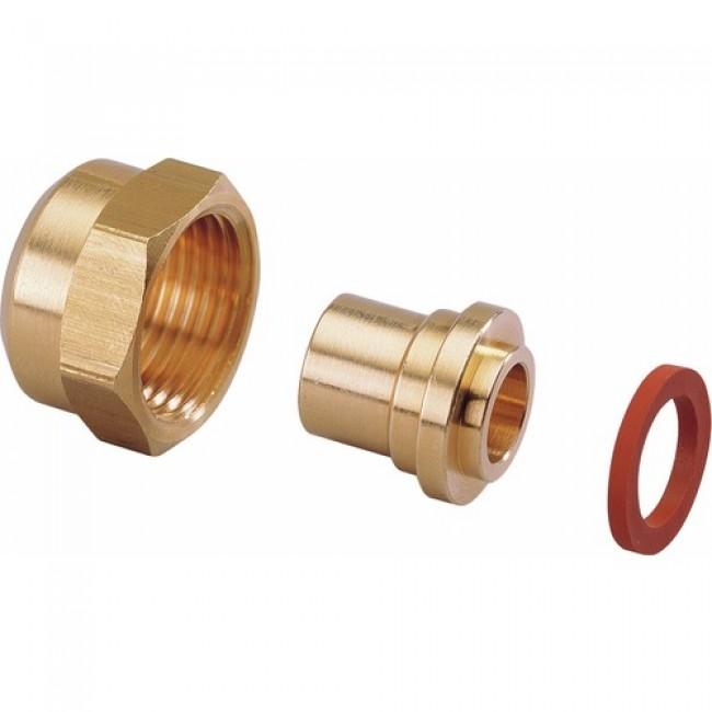 Raccord 2 pièces avec joints - butane / propane CLESSE