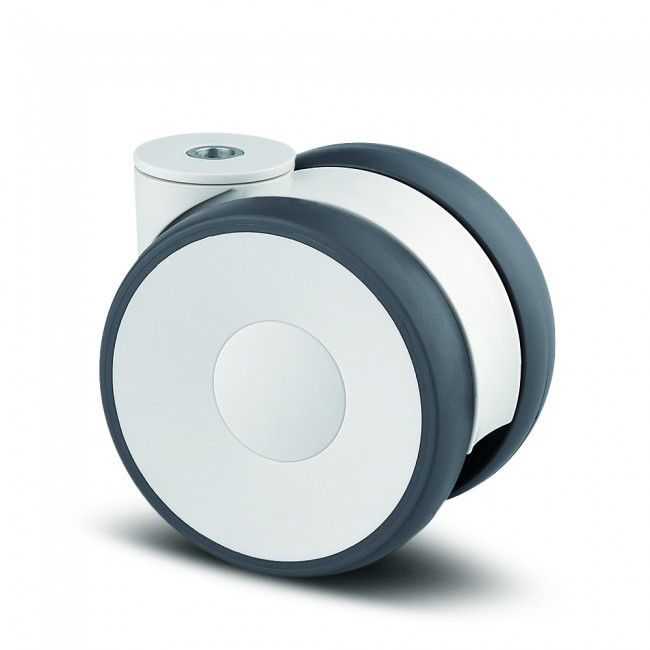 Roulette pivotante design - œil - hauteur 78mm - Linea TENTE