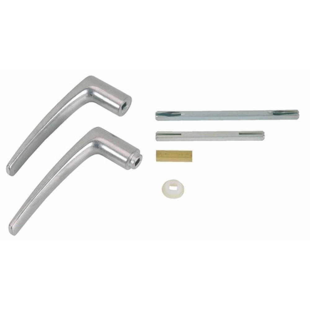 Poign es de porte universelles en aluminium bilcocq bricozor - Poignee de porte aluminium ...