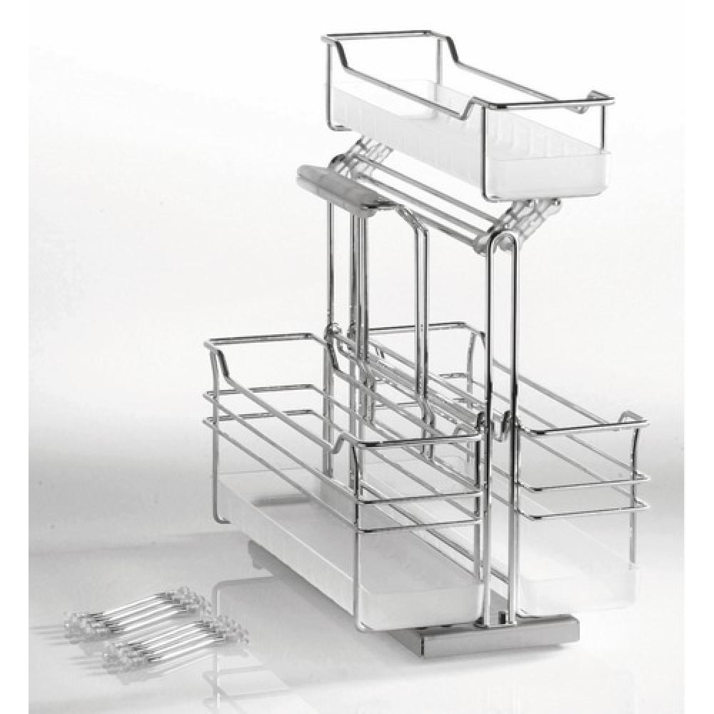 panier coulissant 8 s parations portero 3 kesseb hmer bricozor. Black Bedroom Furniture Sets. Home Design Ideas