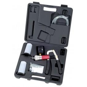 Set de contrôle de pression dépression avec pompe à main - 28 pièces KRAFTWERK