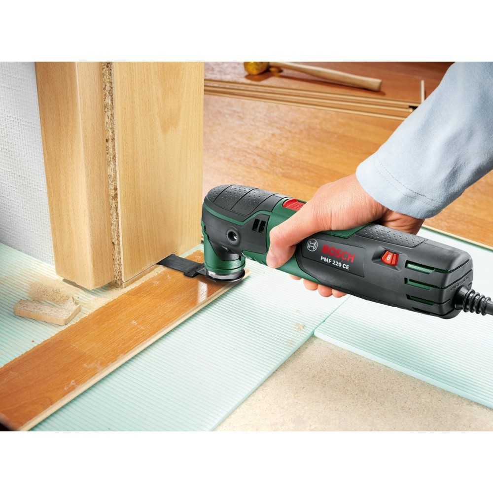 best online fast delivery differently Outil multifonction 220 W PMF 220 + 13 accessoires - 0603102001 BOSCH