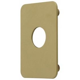 Contre-plaque 754V pour 7740 /Ø25mm D/ésignation Bronz/é or Accessoires pour verrou VACHETTE Finition