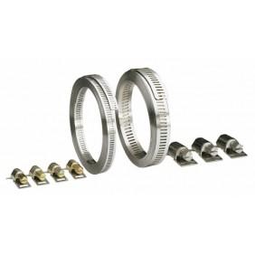 Collier de serrage en acier et inox - bande ajourée sans fin - 25 m SERFLEX