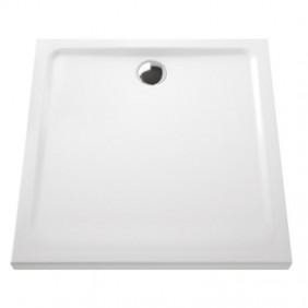 Receveur à poser extra-plat en céramique - 120x80 cm VITRA