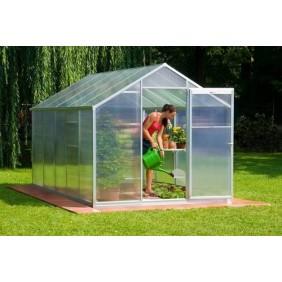 Serre de jardin polycarbonate 8 mm 9m2 Profi V