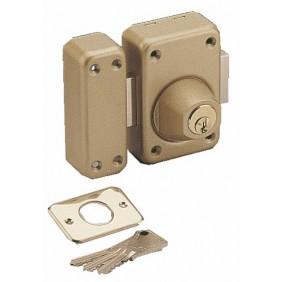 Verrou en applique de sûreté - double cylindre varié - V 136 VACHETTE