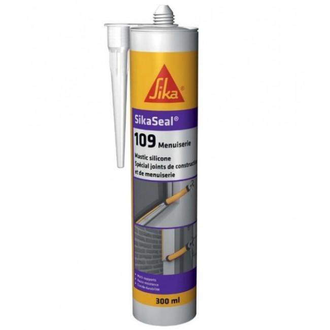 Mastic neutre spécial joint de construction et menuiserie - SikaSeal 109 SIKA