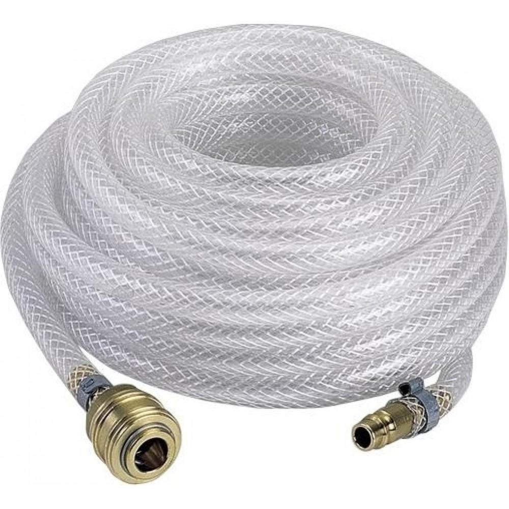 Rallonge tube air comprim/é 15 m/ètres avec raccords rapides compresseur