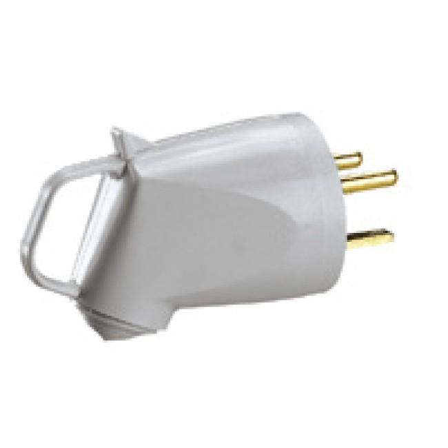 Fiche électrique Plexo mâle 32A 2P+T IP44 à poignée 055852 LEGRAND
