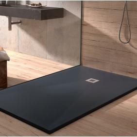 Receveur de douche en resine - noir - différentes dimensions - PLUS DUPLACH