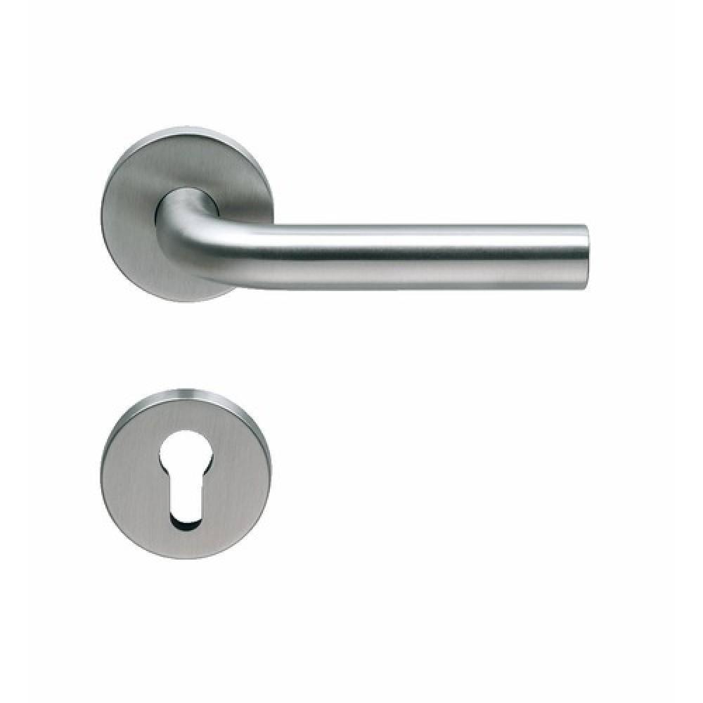 poign e de porte et bouton fixe pour porte pali re inox 316 normbau bricozor. Black Bedroom Furniture Sets. Home Design Ideas