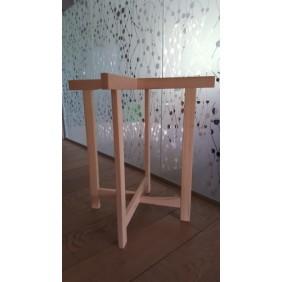 Tréteau en croix - bois de hêtre - X Pro JACQUENET-MALIN