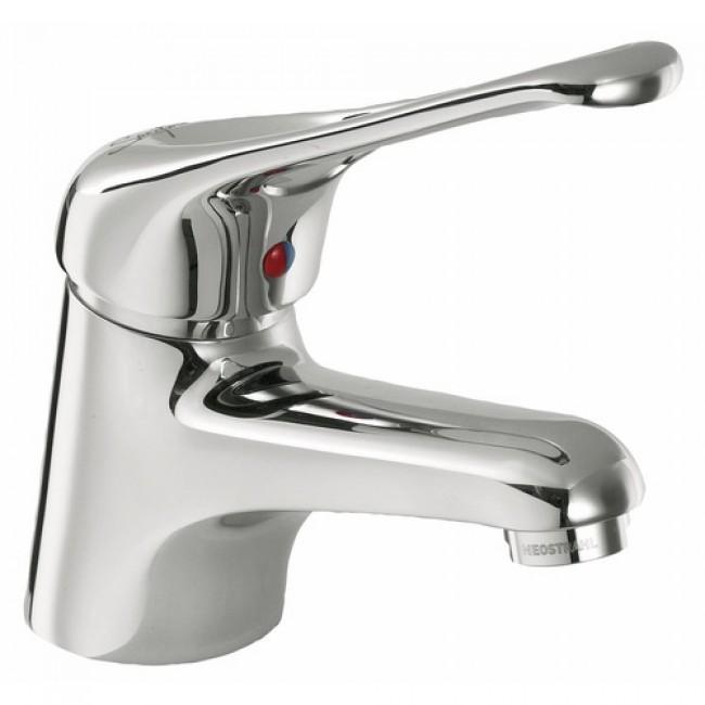 Mitigeur de lavabo - bec fixe et manette ajourée SANIFIRST