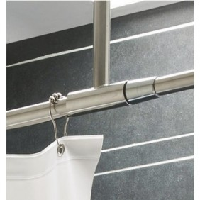 Tringle pour rideau de douche - ajustable - PRESTO | Bricozor