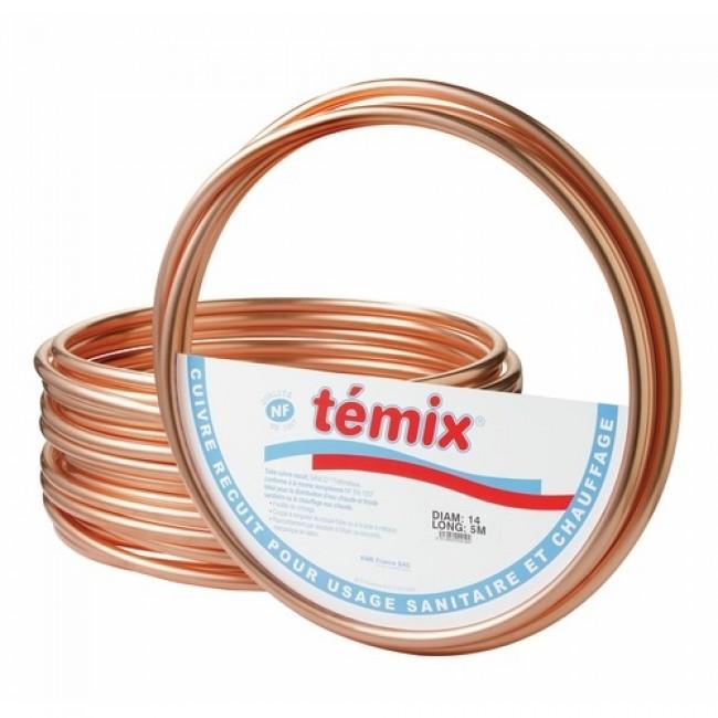 Couronne de tube en cuivre recuit anti-corrosion - Temix KME