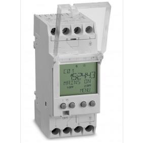 Horloge digitale pour coffret électrique - programmateur hebdomadaire AEG