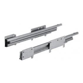 Coulisses pour tiroirs caisson office Quadro Duplex 45 HETTICH