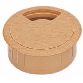 Passe-câbles rond en plastique - diamètre 60 mm HETTICH