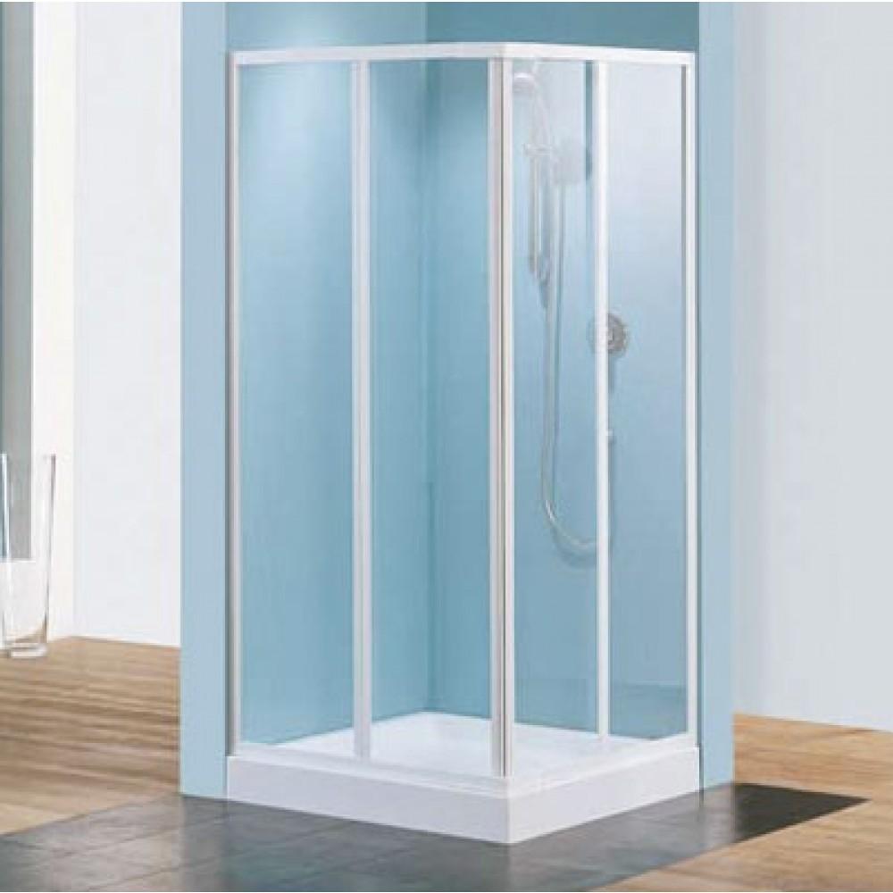 paroi de douche d 39 angle verre granit riviera a 79. Black Bedroom Furniture Sets. Home Design Ideas
