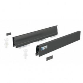 Profils pour tiroir InnoTech Atira-hauteur 54 mm-anthracite HETTICH