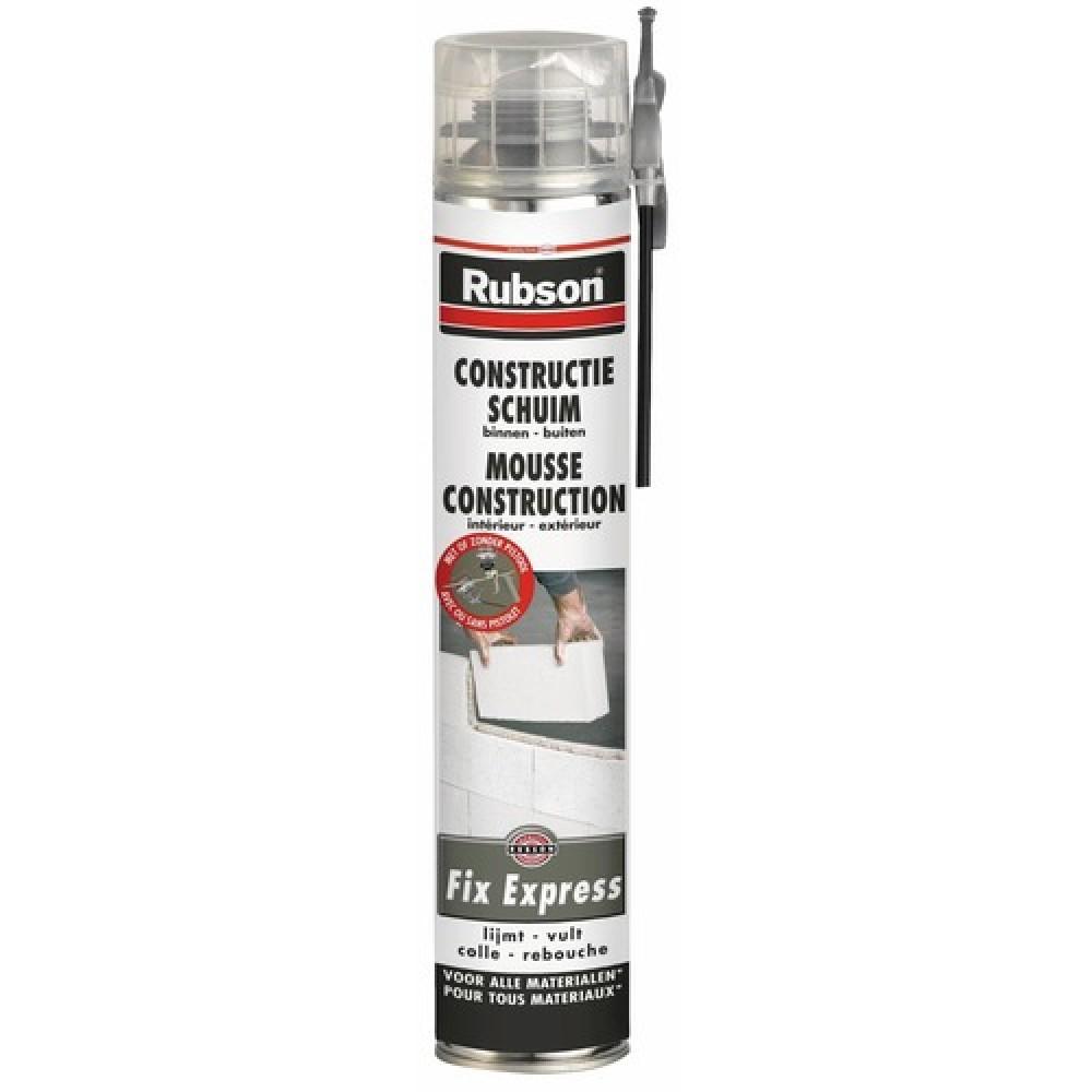 Mousse polyur thane adh sive de construction fix express rubson bricozor - Mousse polyurethane projetee prix ...
