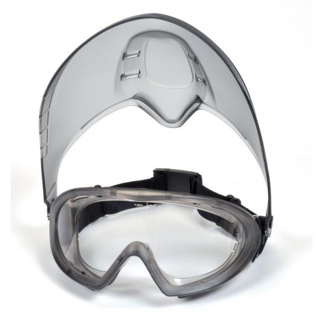 Lunettes/masque CAPSTONE + visière PYRAMEX