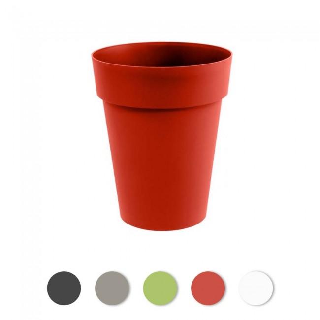 Pot rond mi-haut 44 cm - 50 litres - Toscane 13629 EDA PLASTIQUES