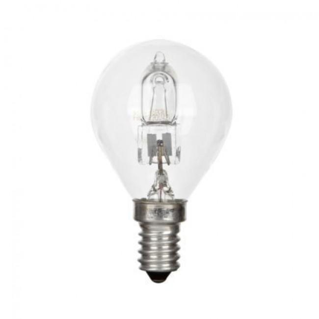 Lampe halogène sphérique TU - culot E14 GE LIGHTING