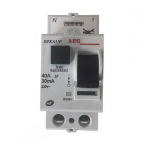 Interrupteur différentiel - RCD connection auto - Type A AEG