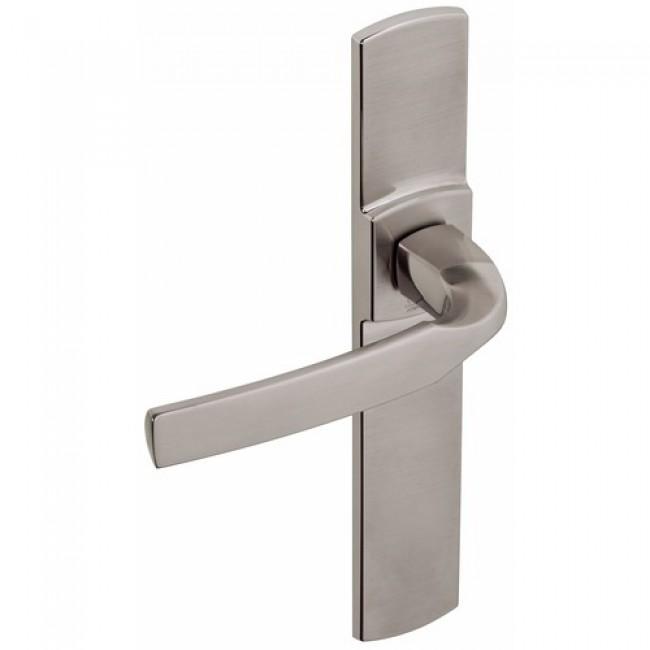 Poignées de porte design sur grandes plaques - aluminium - Artis VACHETTE